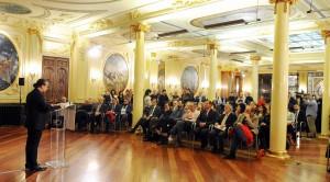 Acto de presentación de 'El libro del Ternasco de Aragón'