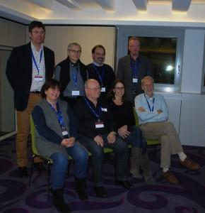 Los miembros de la nueva junta directiva de ENAJ
