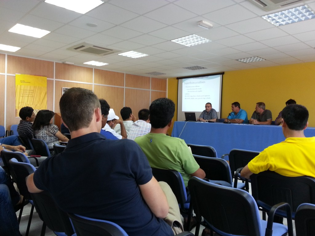cooperativistas peruanos en Zuera