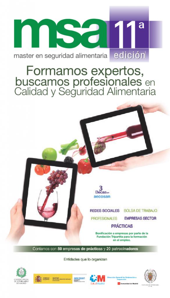 El MSA del Colegio de Veterinarios de Madrid va por su undécima edición.