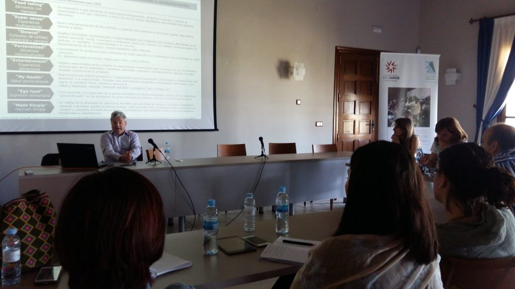 Sesión presencial de Eucagro 2017