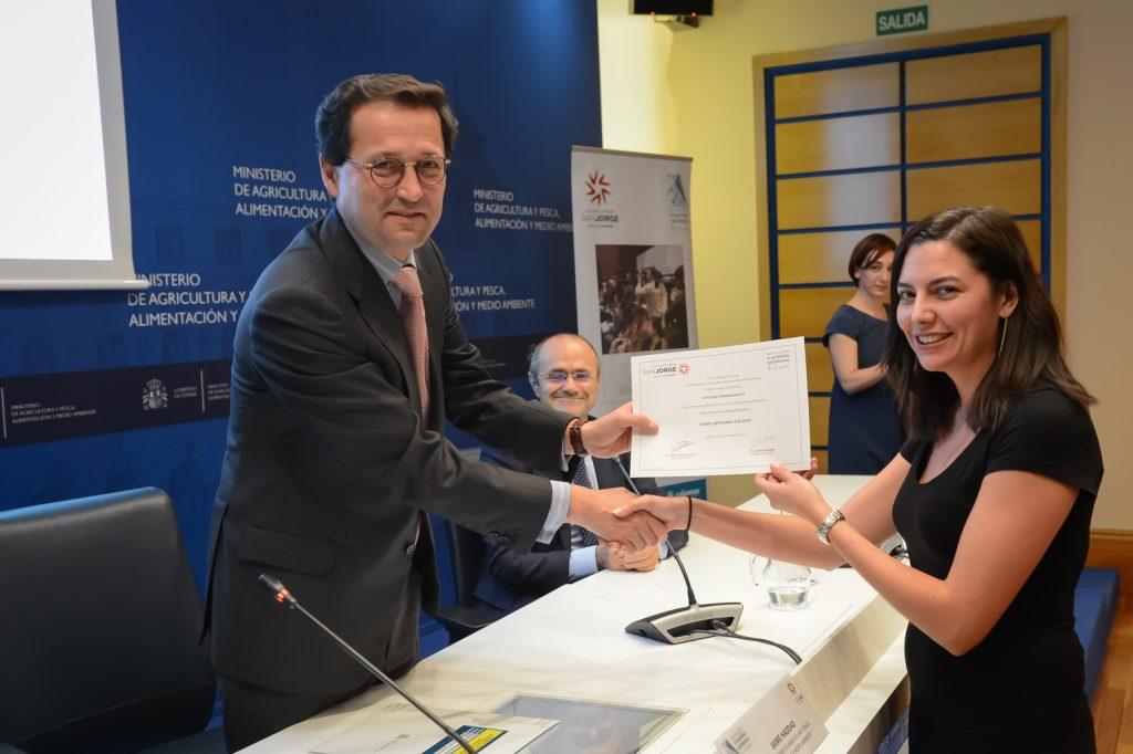 Entrega de diplomas de Eucagro 2017