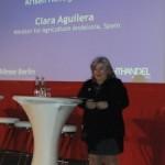 Clara Aguilera reprocha a Alemania su gestion en la crisis del pepino y pide más proactividad a la Comisión Europea