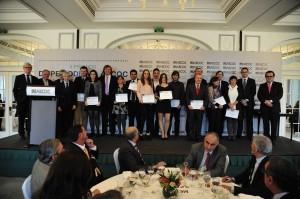 También se entregaron los premios destinados al mundo académico.