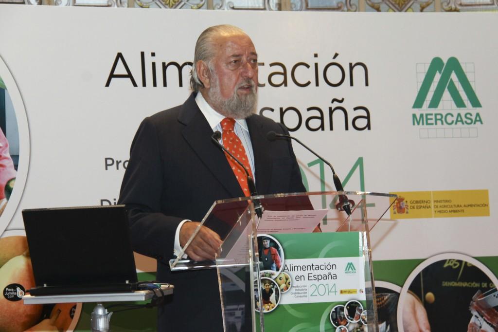 Eduardo Ameijide, presidente de Mercasa. Mercasa